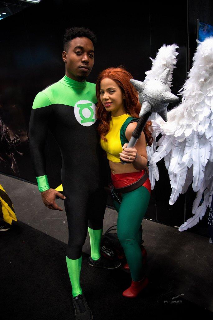 Green Lantern & Hawk Girl